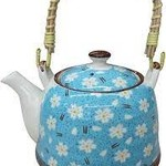 LaVida Teapot Light Blue