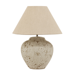 CC Interiors Tuscan Style Stone Lamp Medium