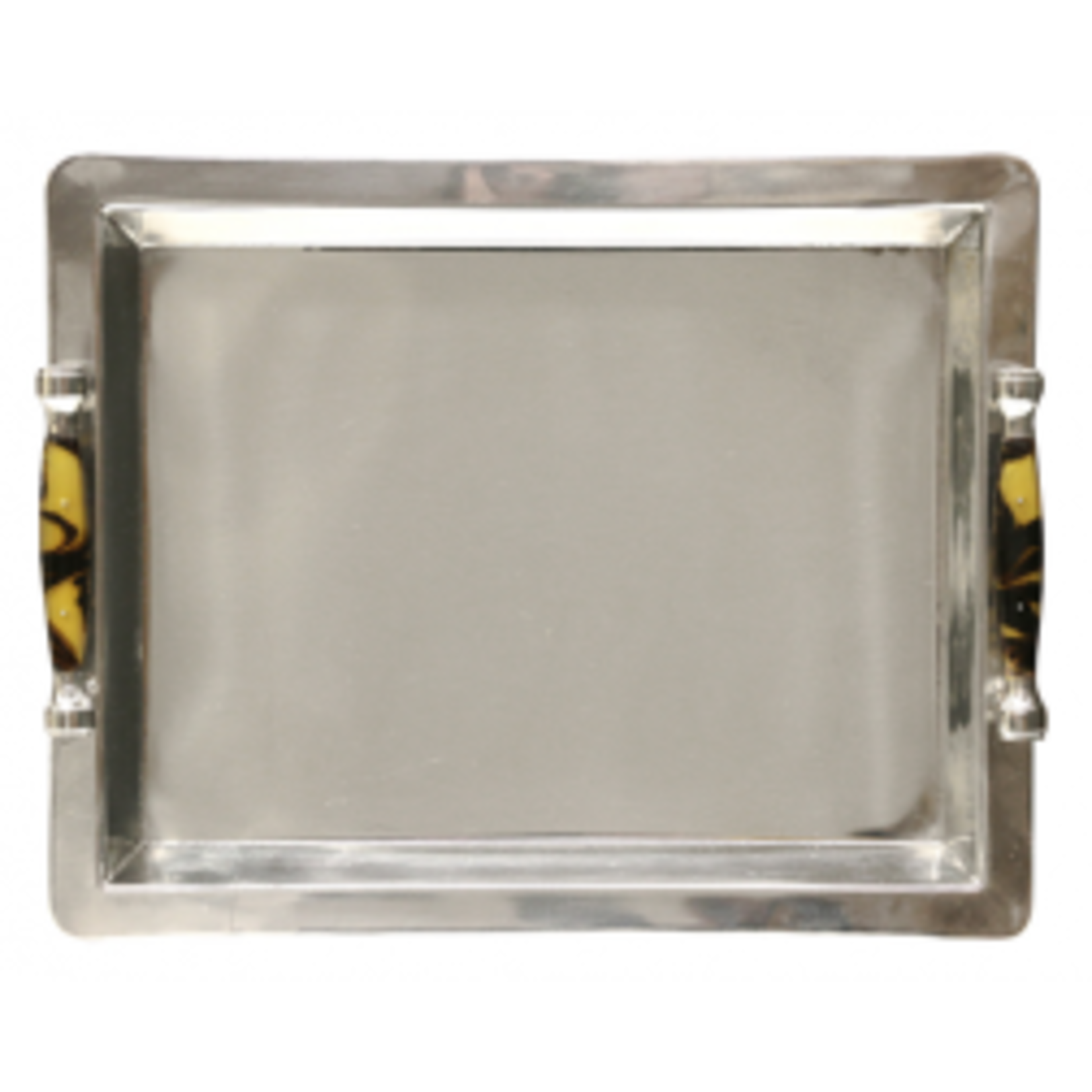 CC Interiors Stainless Steel Tray with Handles