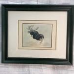 Wildlife Moose Print