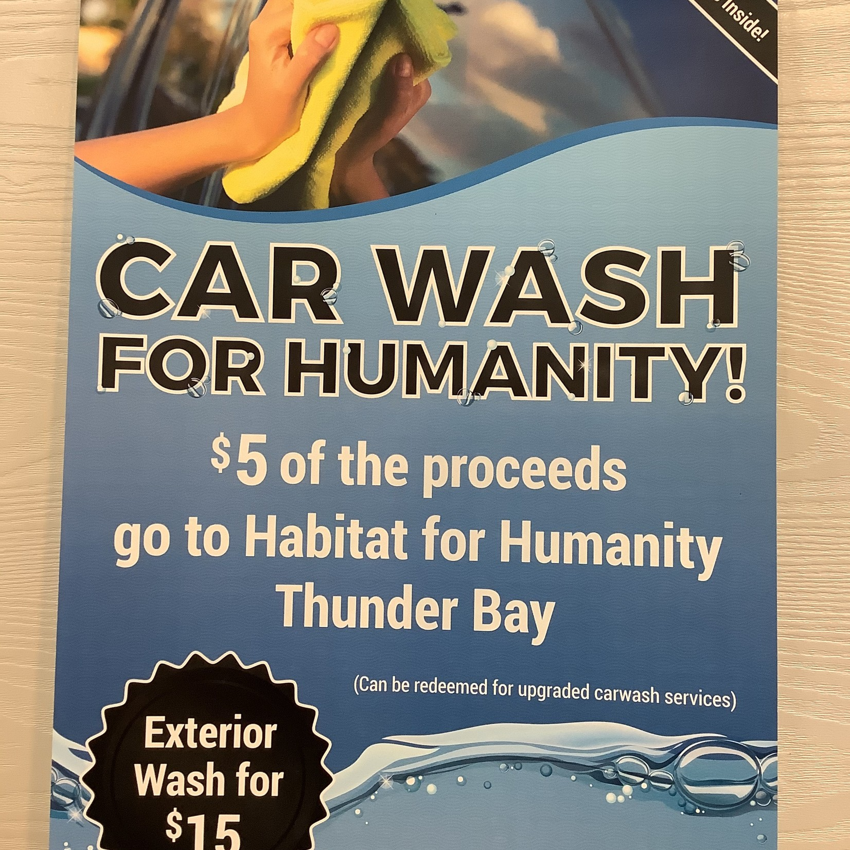 Car Wash Tickets  x 5