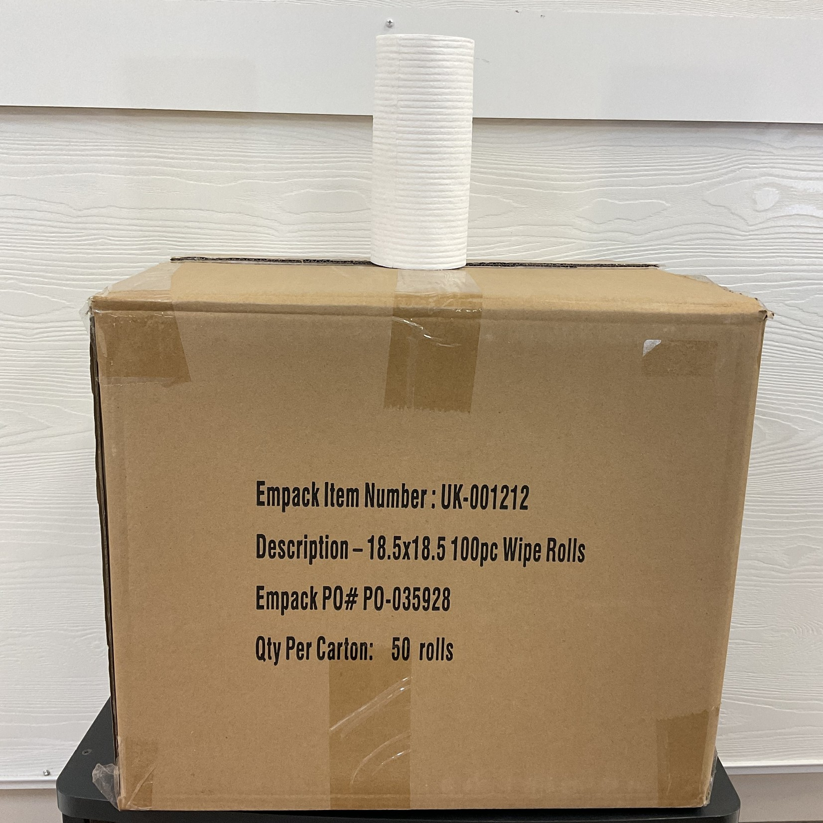 Case of 50 Rolls of EasyWipe