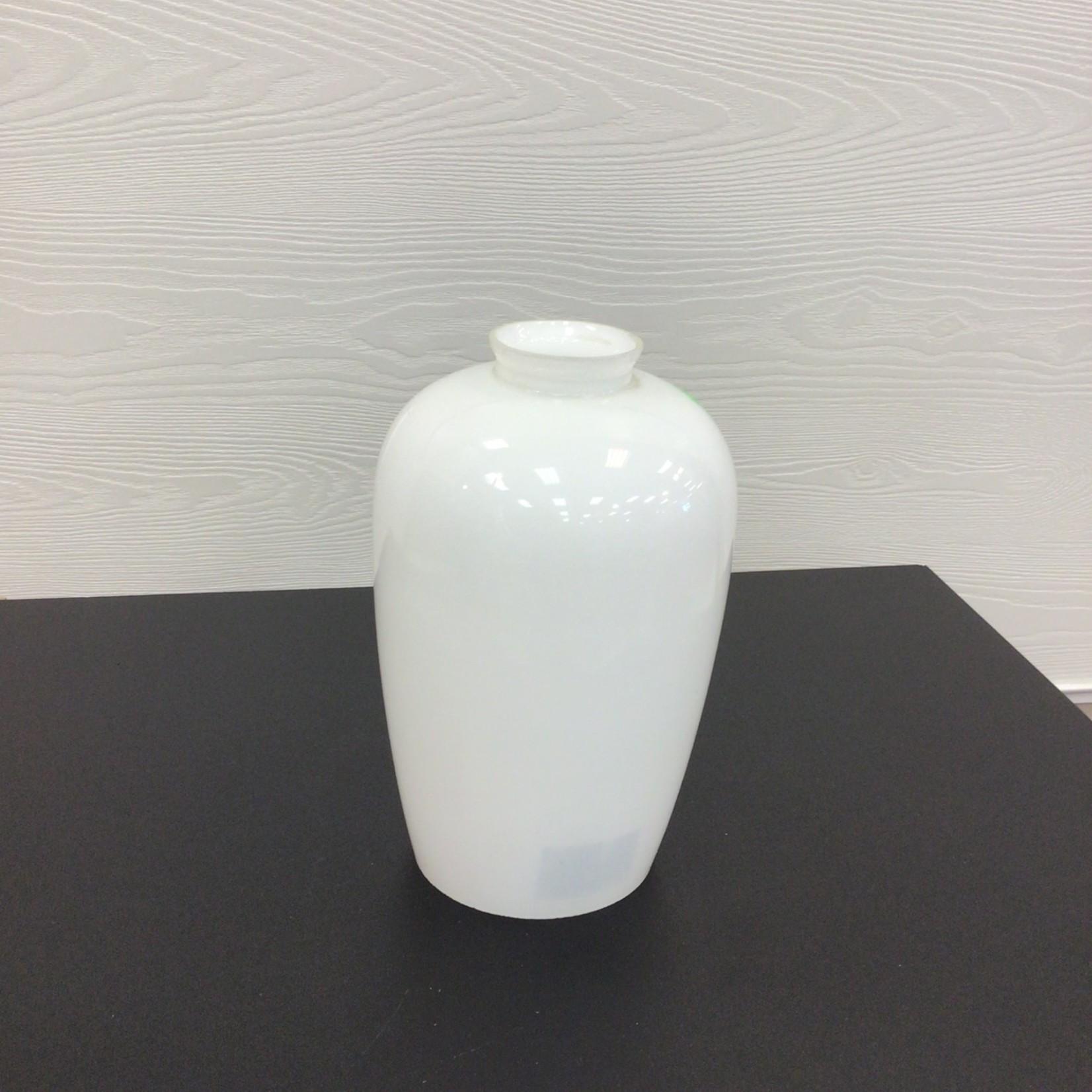 White jar shaped light shade