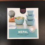 Mepal 4 pcs bowl set