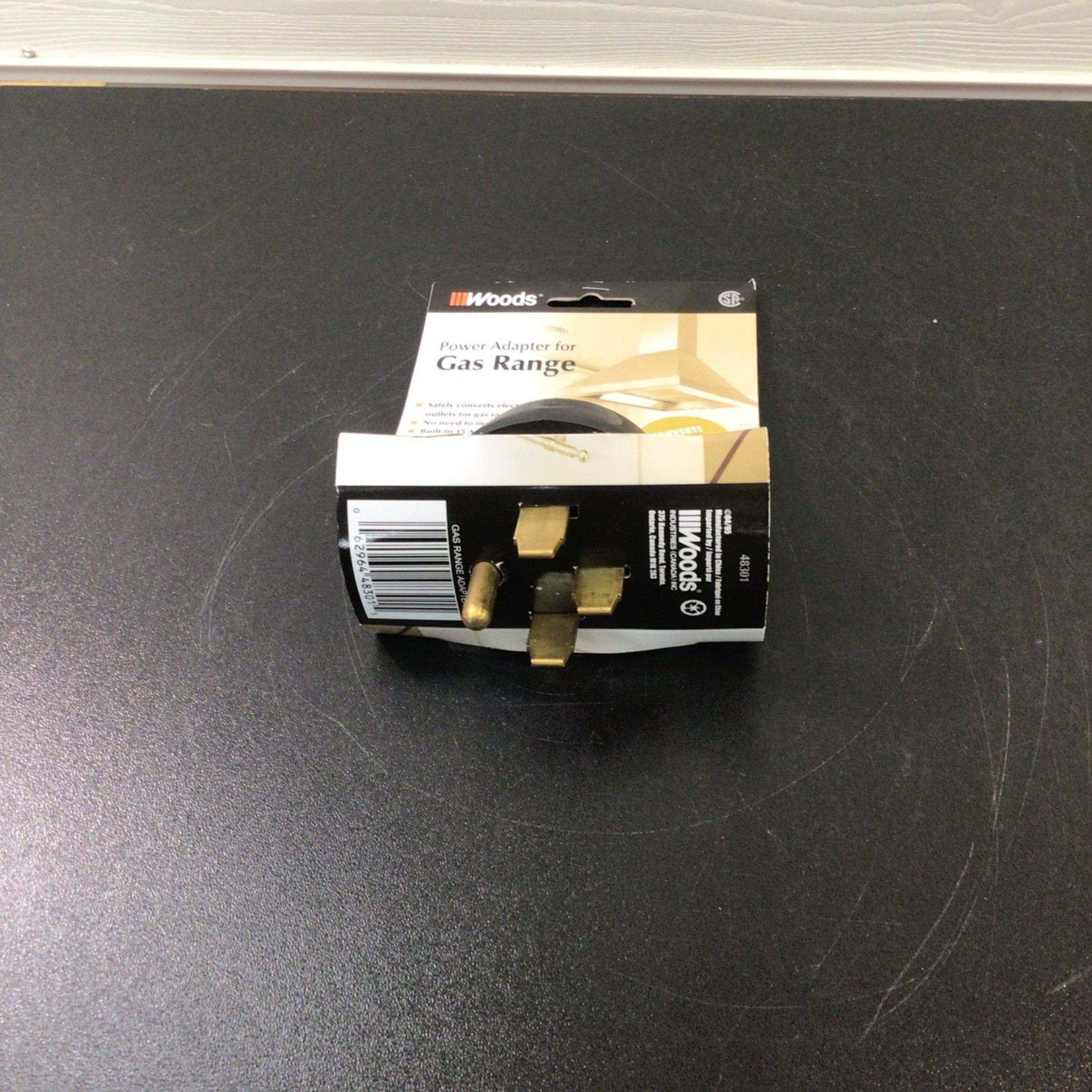 Power Adapter For Gas Range