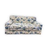 Floral Motif Love Seat