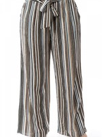 Spin USA Striped Belted Pants