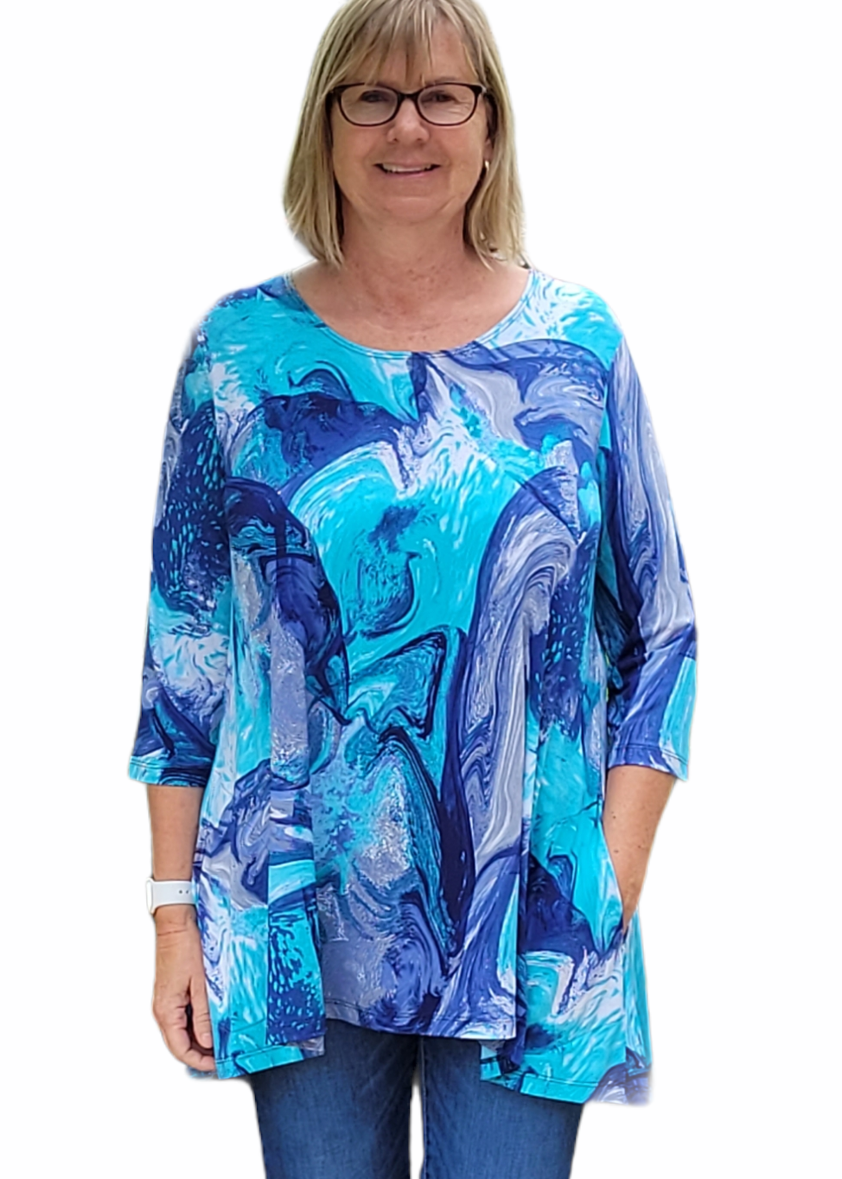 Caribe Swing Tunic with Pockets
