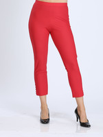 IC Collection Red Pants With Button Detail