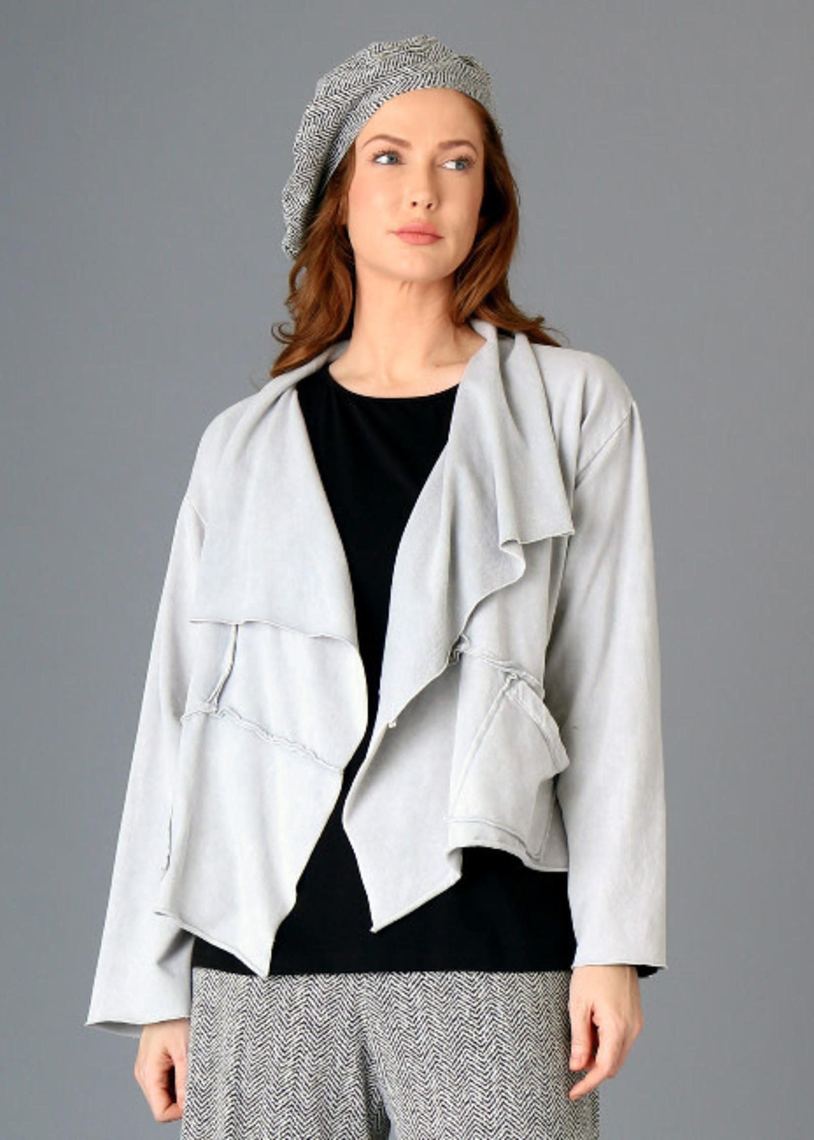 Fenini Cropped Jacket Grey