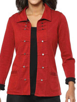 Parsley and Sage Reversible Jacket Red/Black
