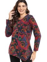 Parsley and Sage Reversible Bella Print Shirt