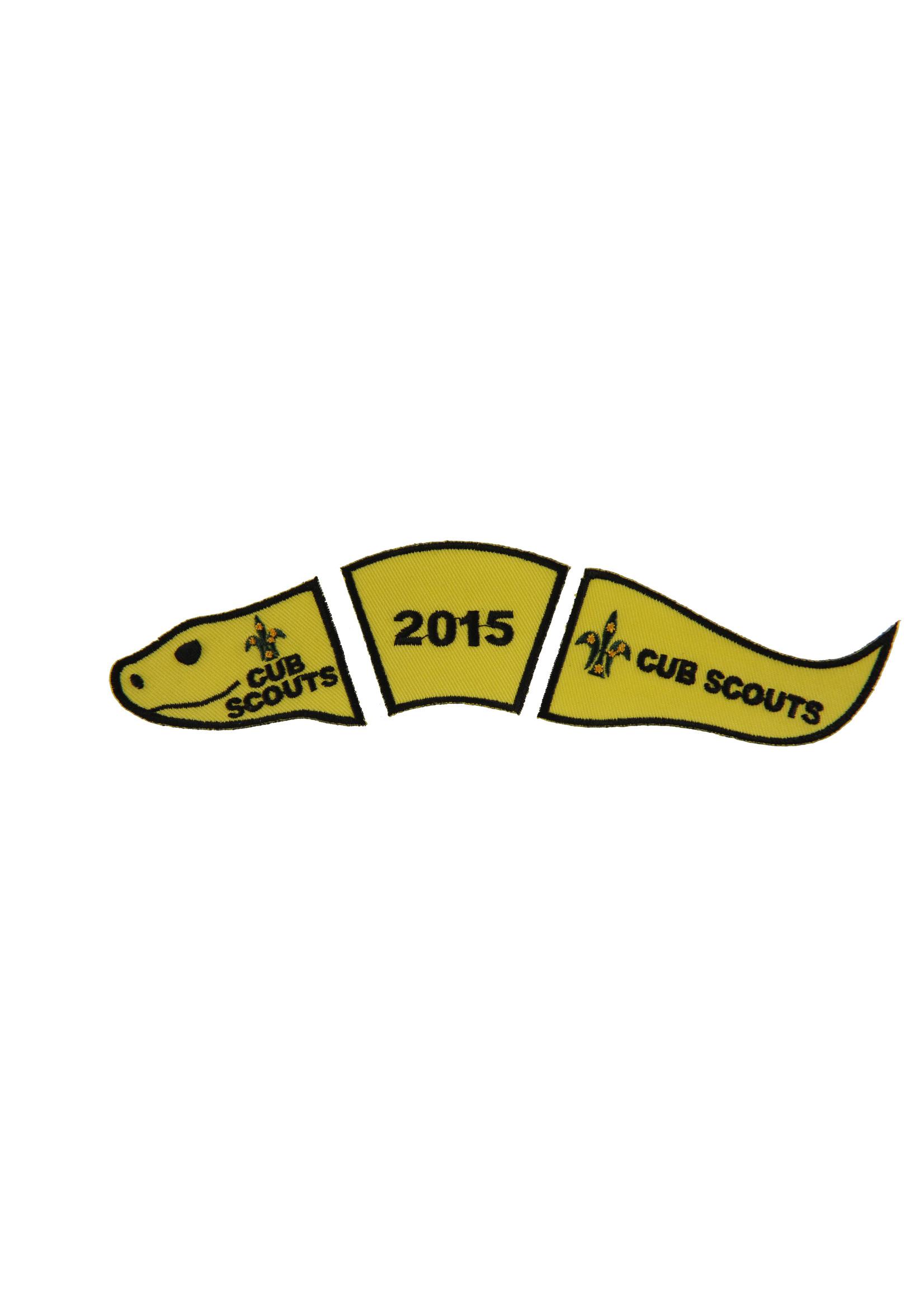 Cub Snake Badge - Year