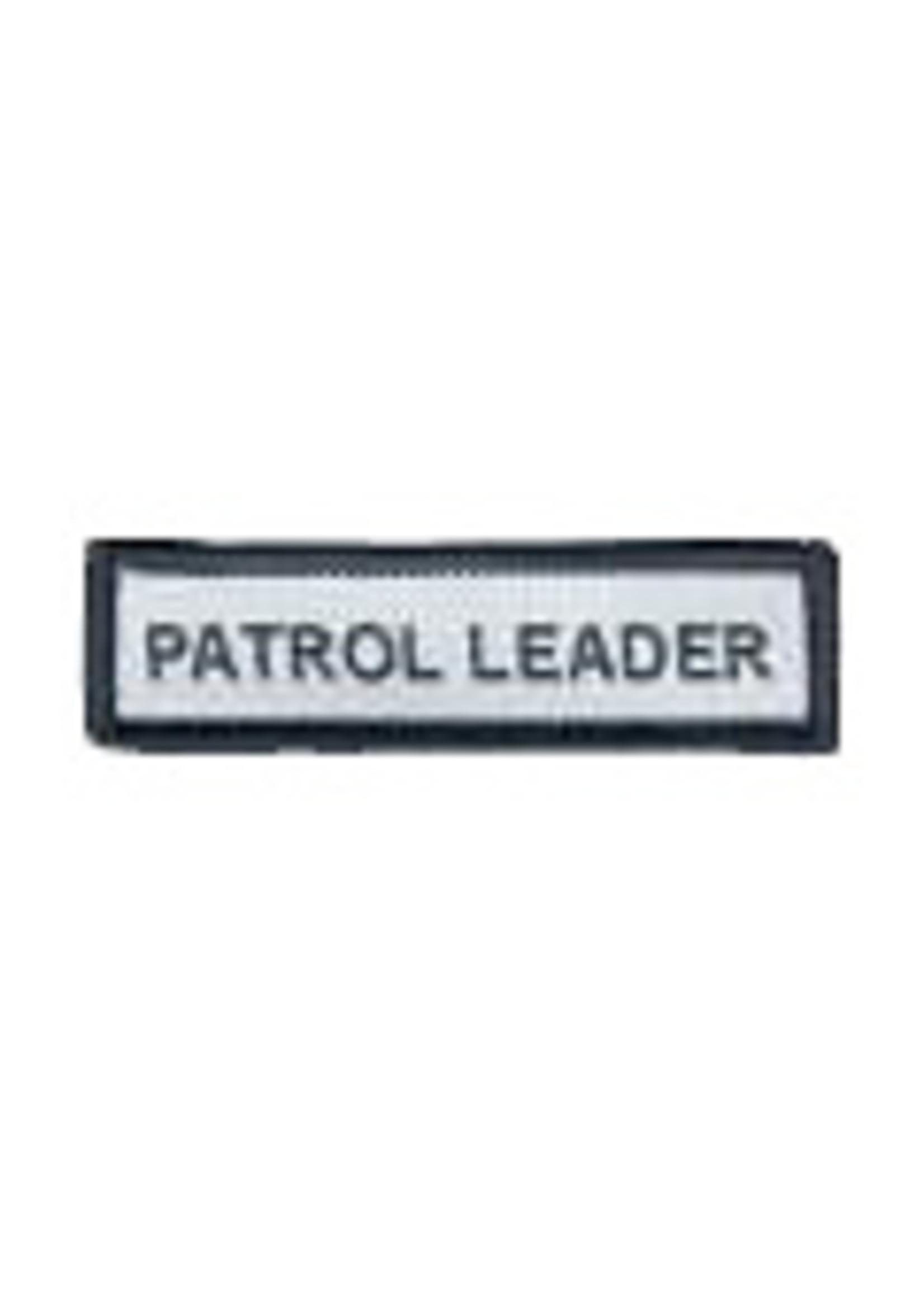 Patrol Leader Badge