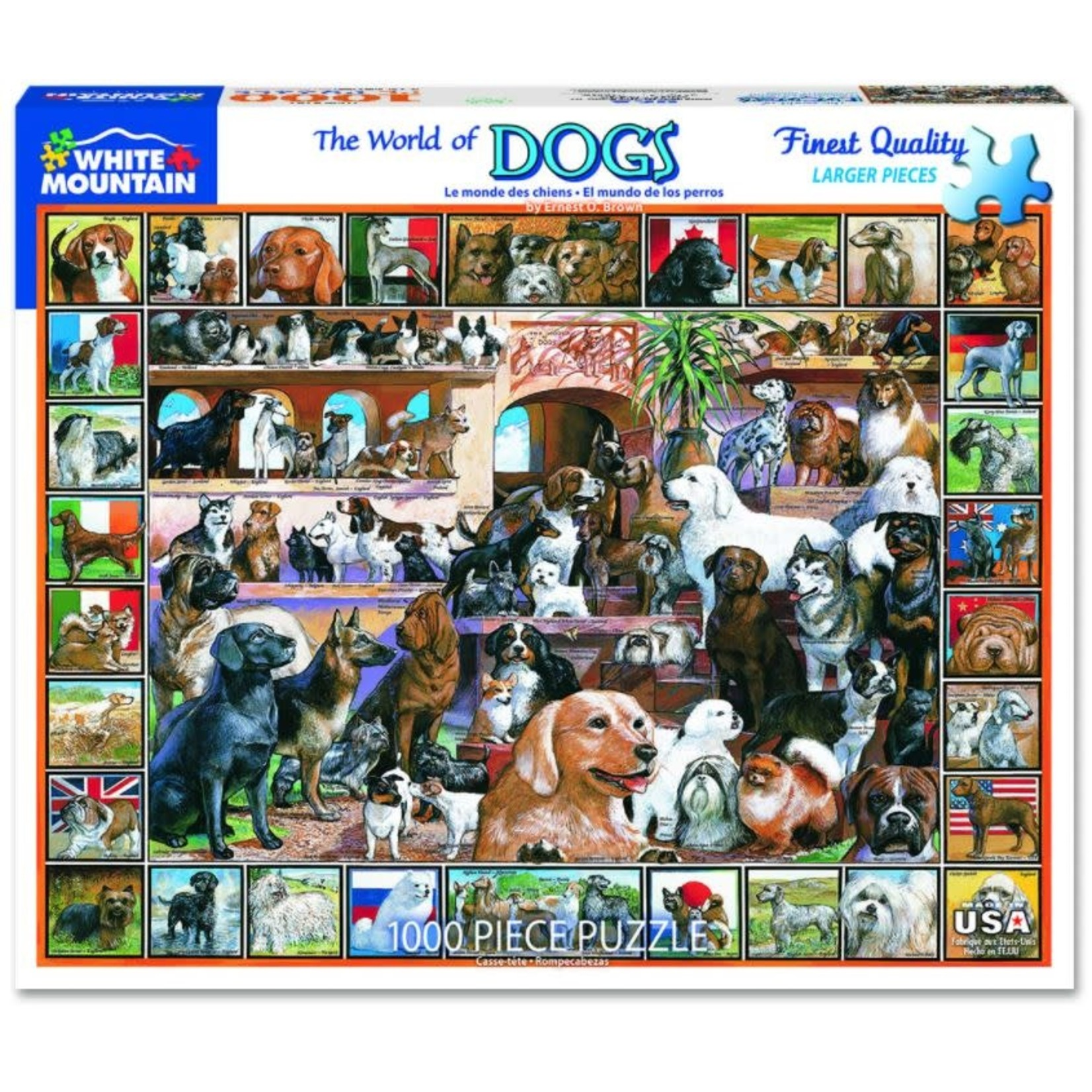 DOGS OF THE WORLD PUZZLE
