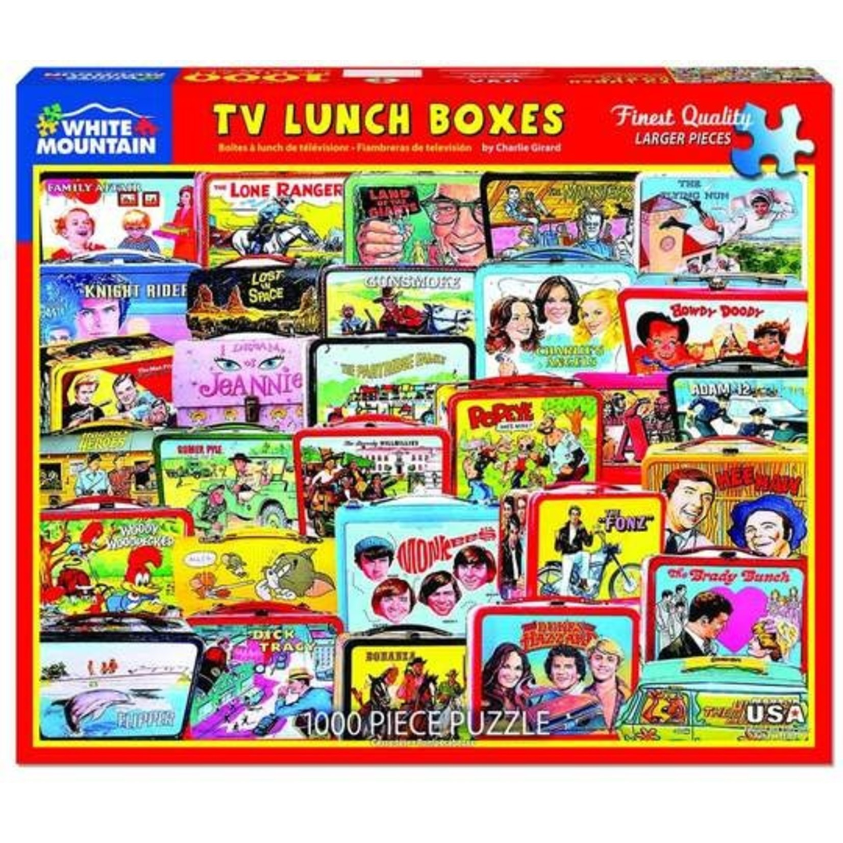 TV LUNCH BOXES PUZZLE