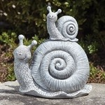 SNAIL & BABY STATUE