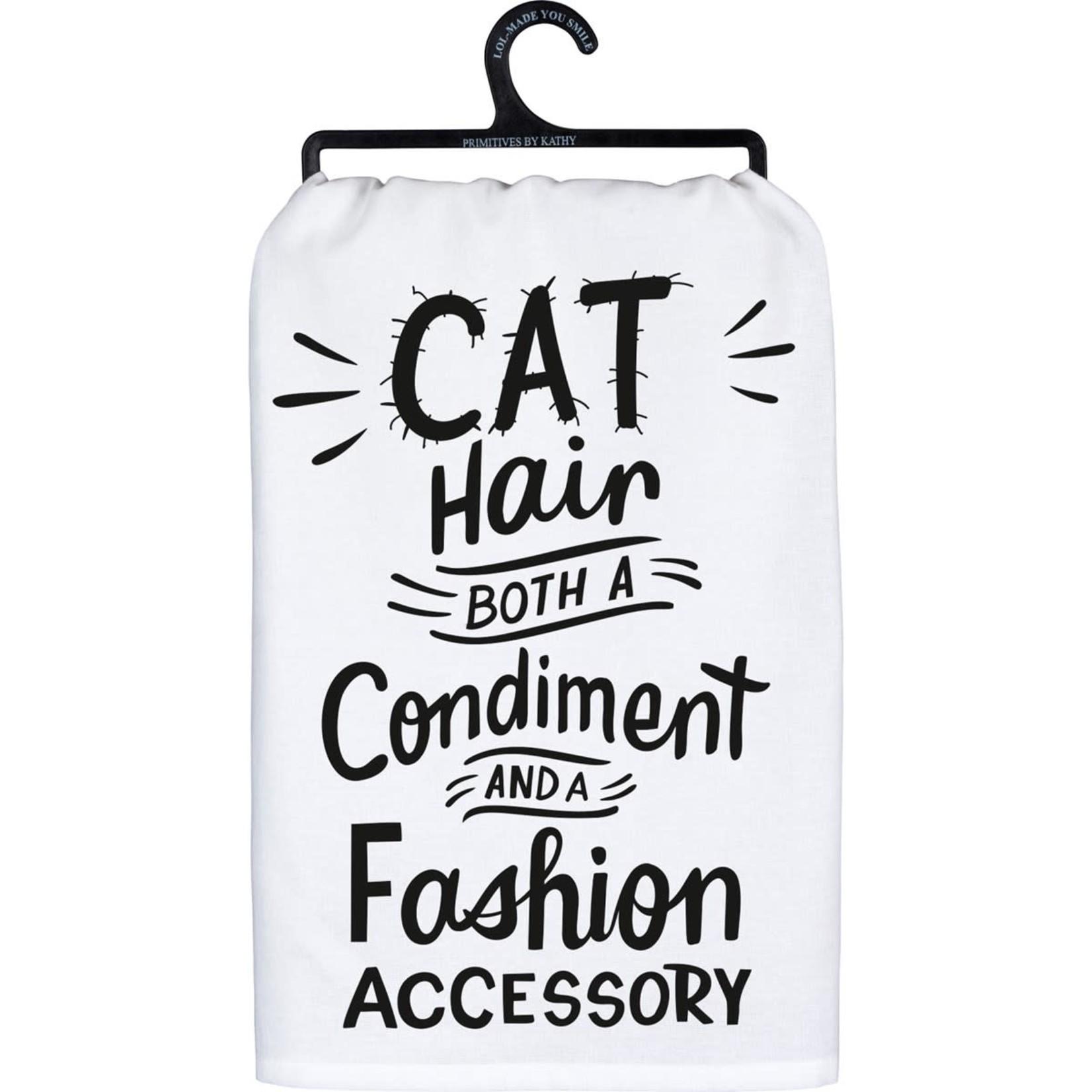 """""""CAT HAIR"""" DISH TOWEL"""