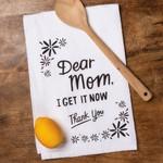 """Dear Mom"" Dish Towel"