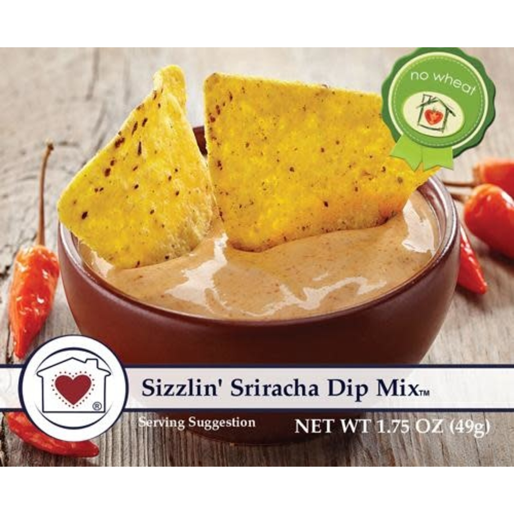 SIZZLIN SRIRACHA DIP MIX