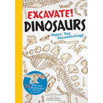EXCAVATE DINOSAURS PAPER TOY BOOK