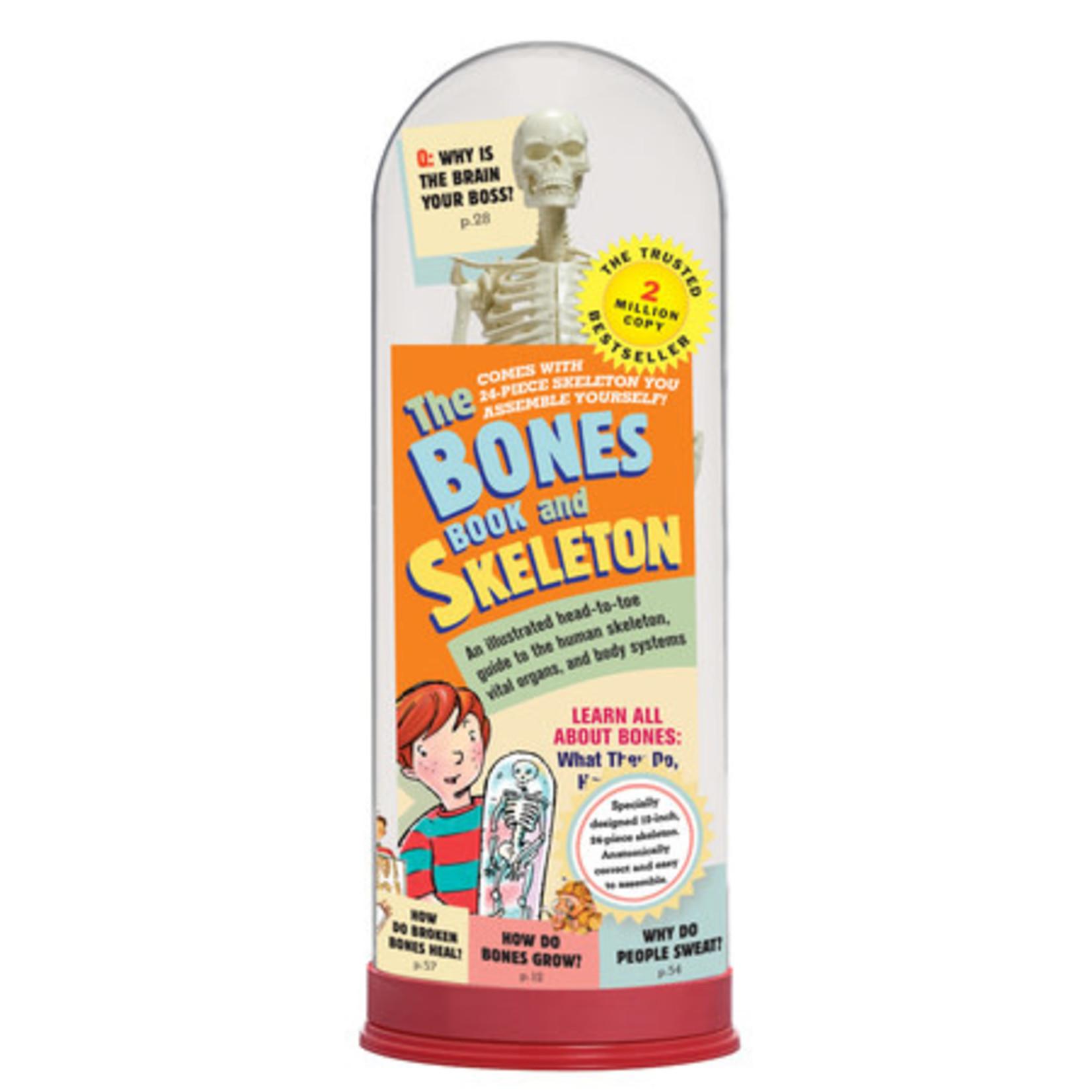 BONES BOOK & SKELETON KIT