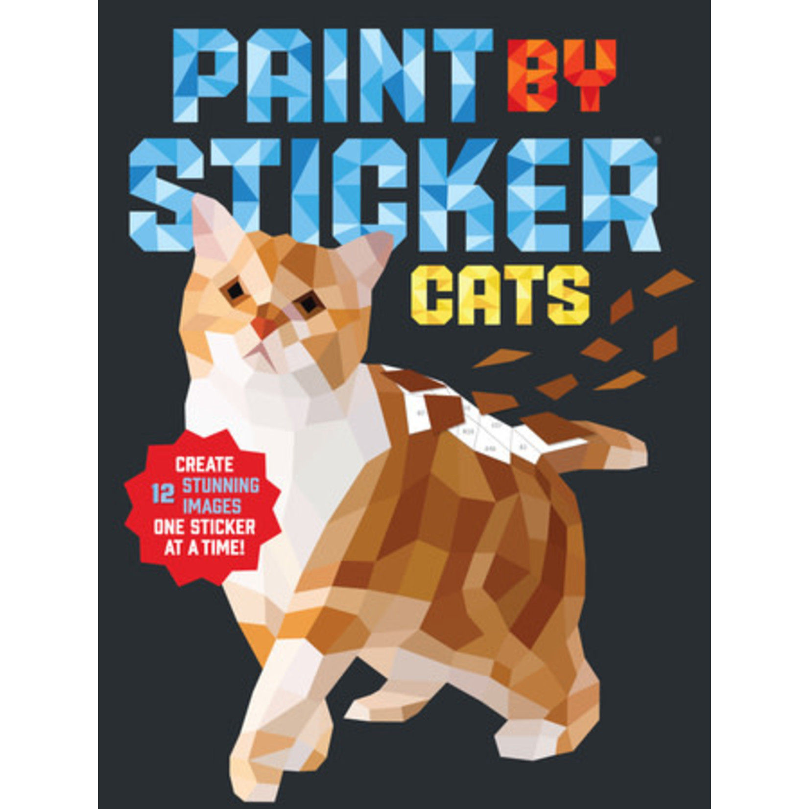 PAINT BY STICKER: CAT