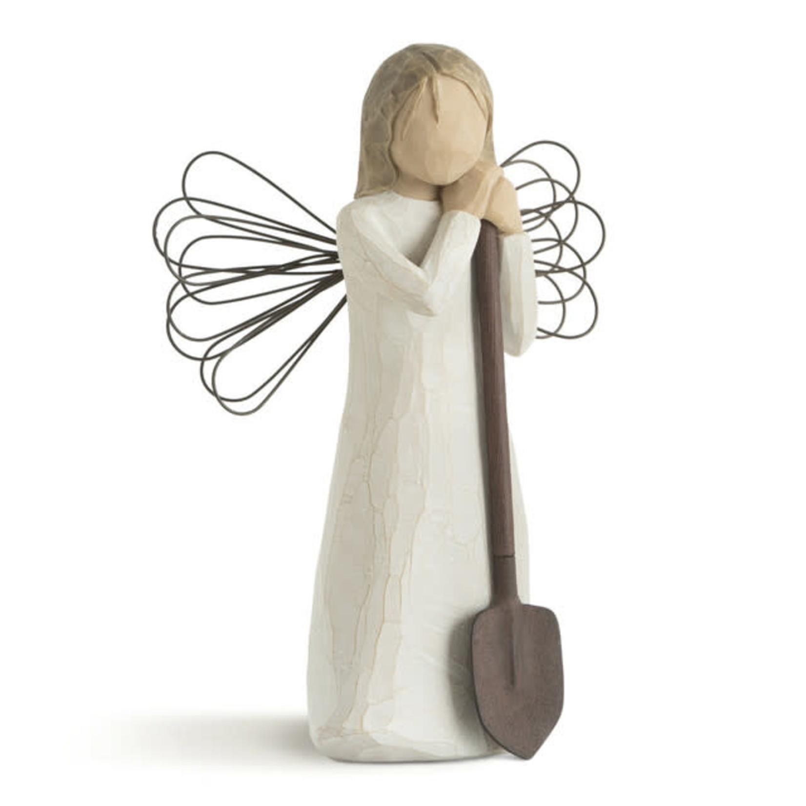 ANGEL OF THE GARDEN FIGURINE