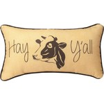 HAY Y'ALL PILLOW