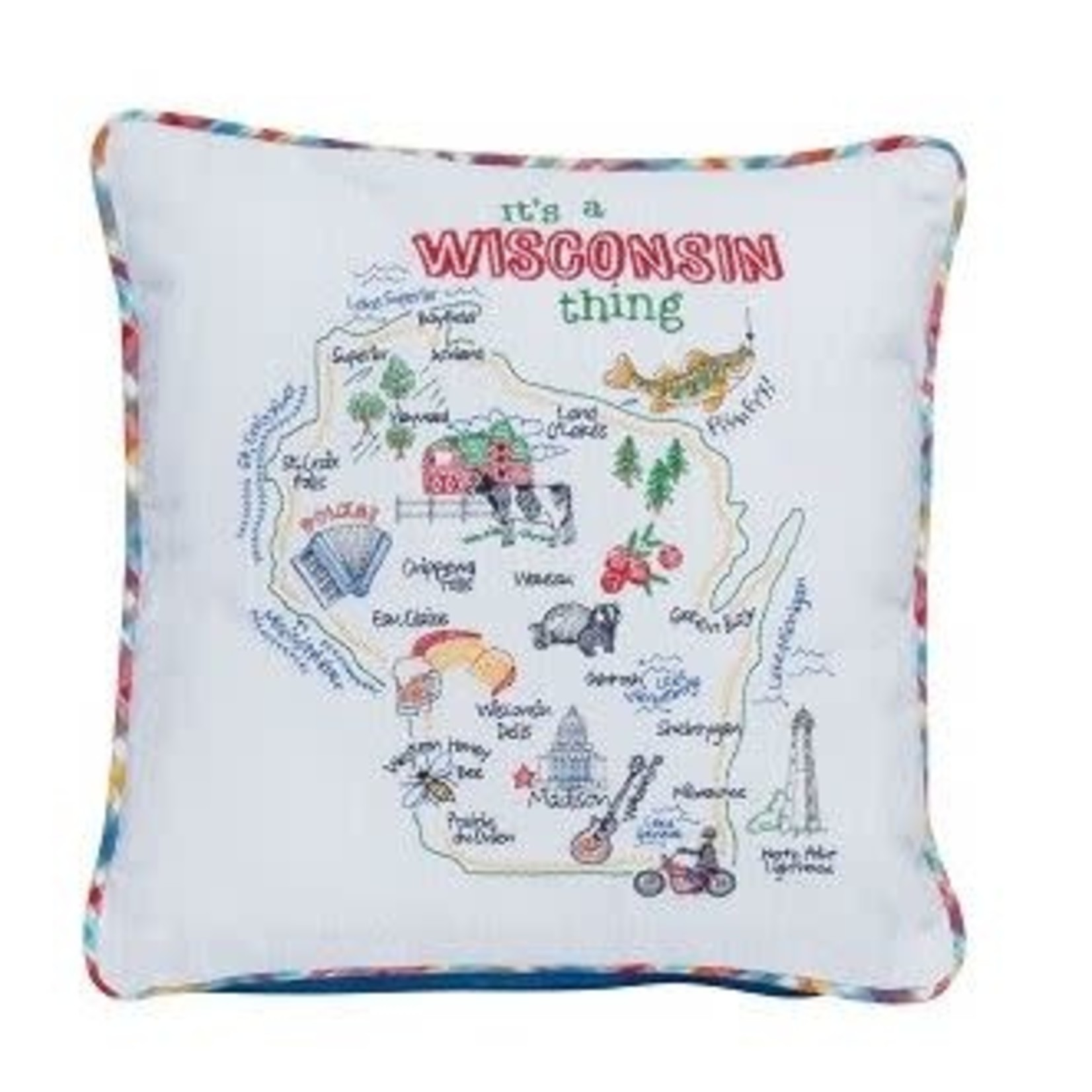"""""""ITS A WISCONSIN THING"""" PILLOW"""