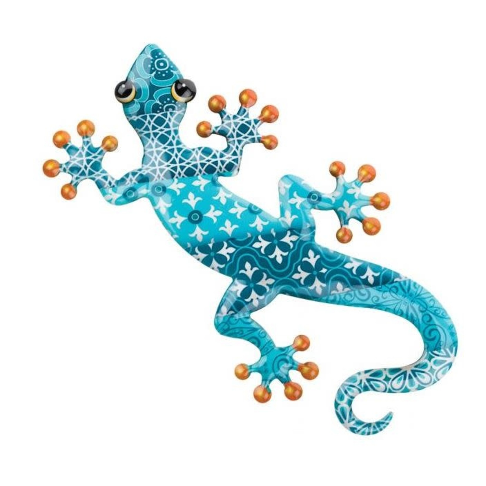 LUSTER GECKO WALL DECOR IN BLUE