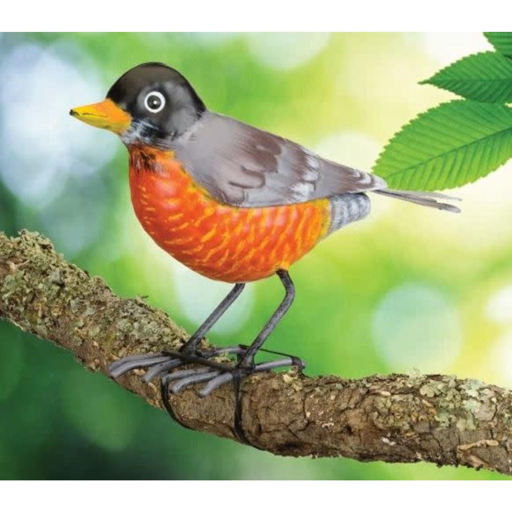 ROBIN SONGBIRD METAL DECOR