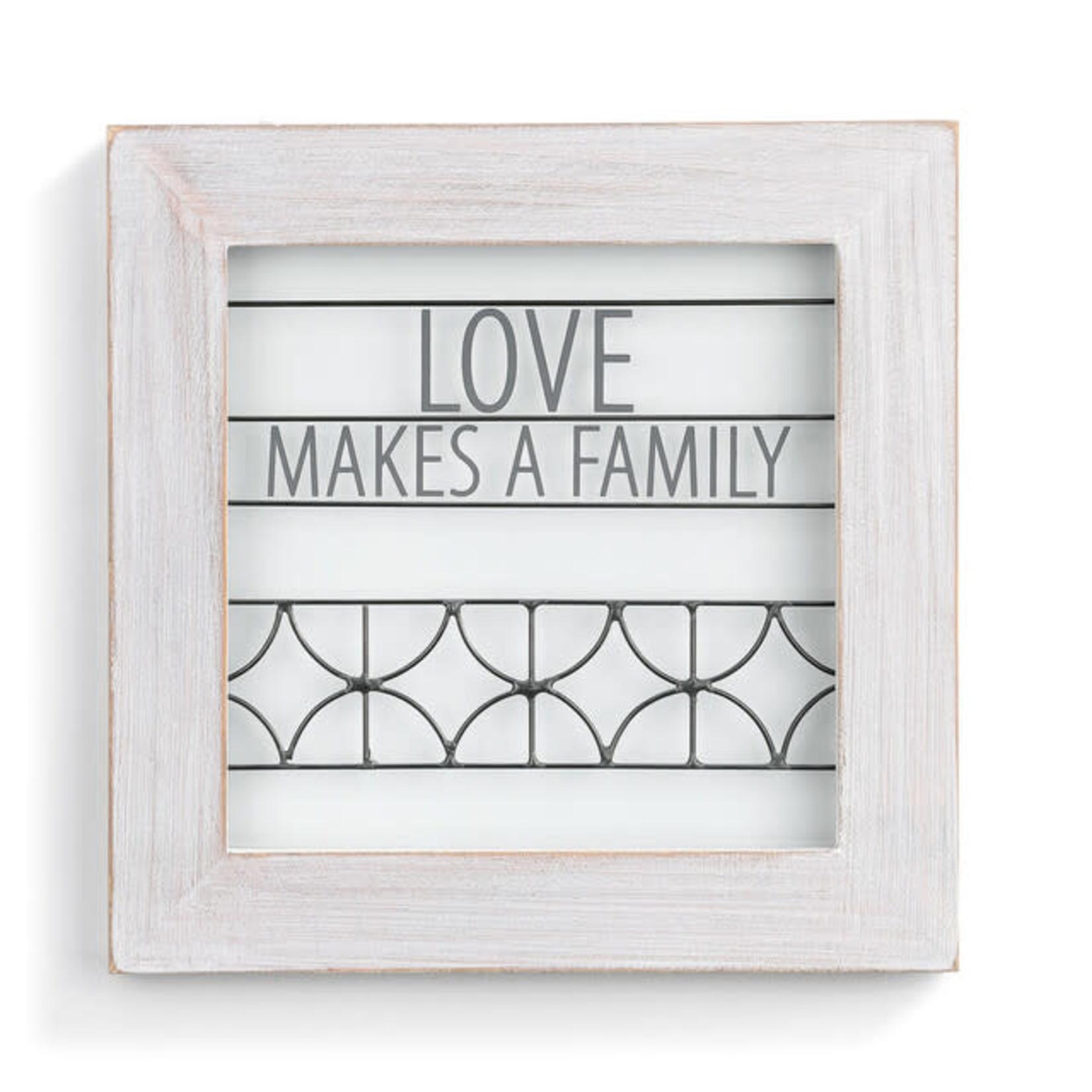 LOVE MAKES A FAMILY WALL DECOR