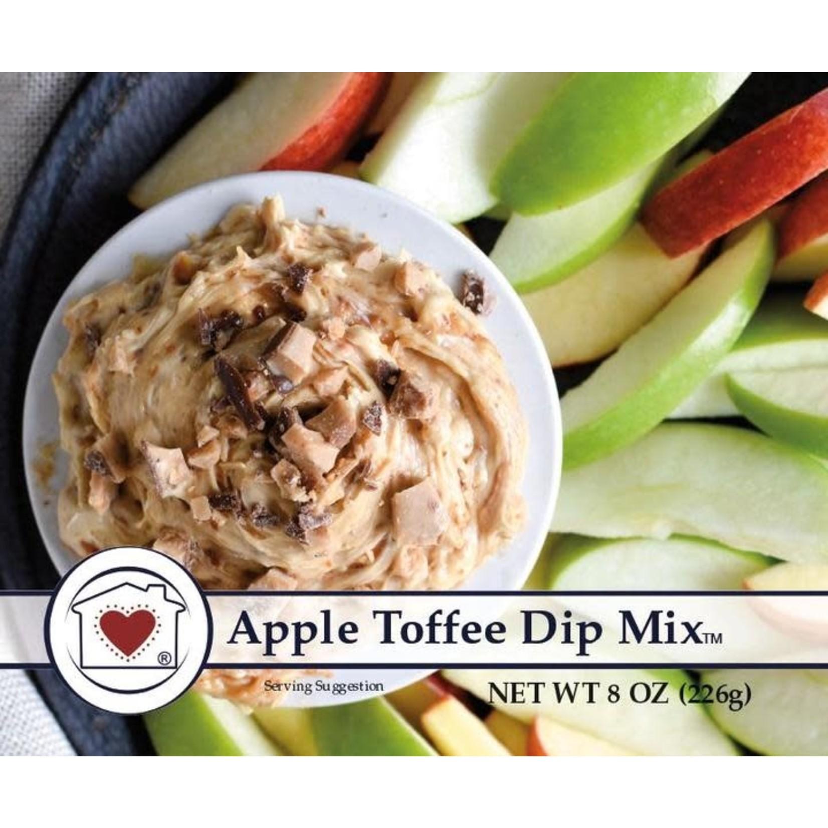 APPLE TOFFEE DIP MIX