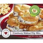 CRANBERRY WALNUT DIP MIX
