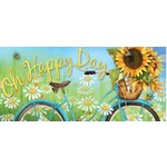 HAPPY DAY SUNFLOWER SASSAFRAS MAT