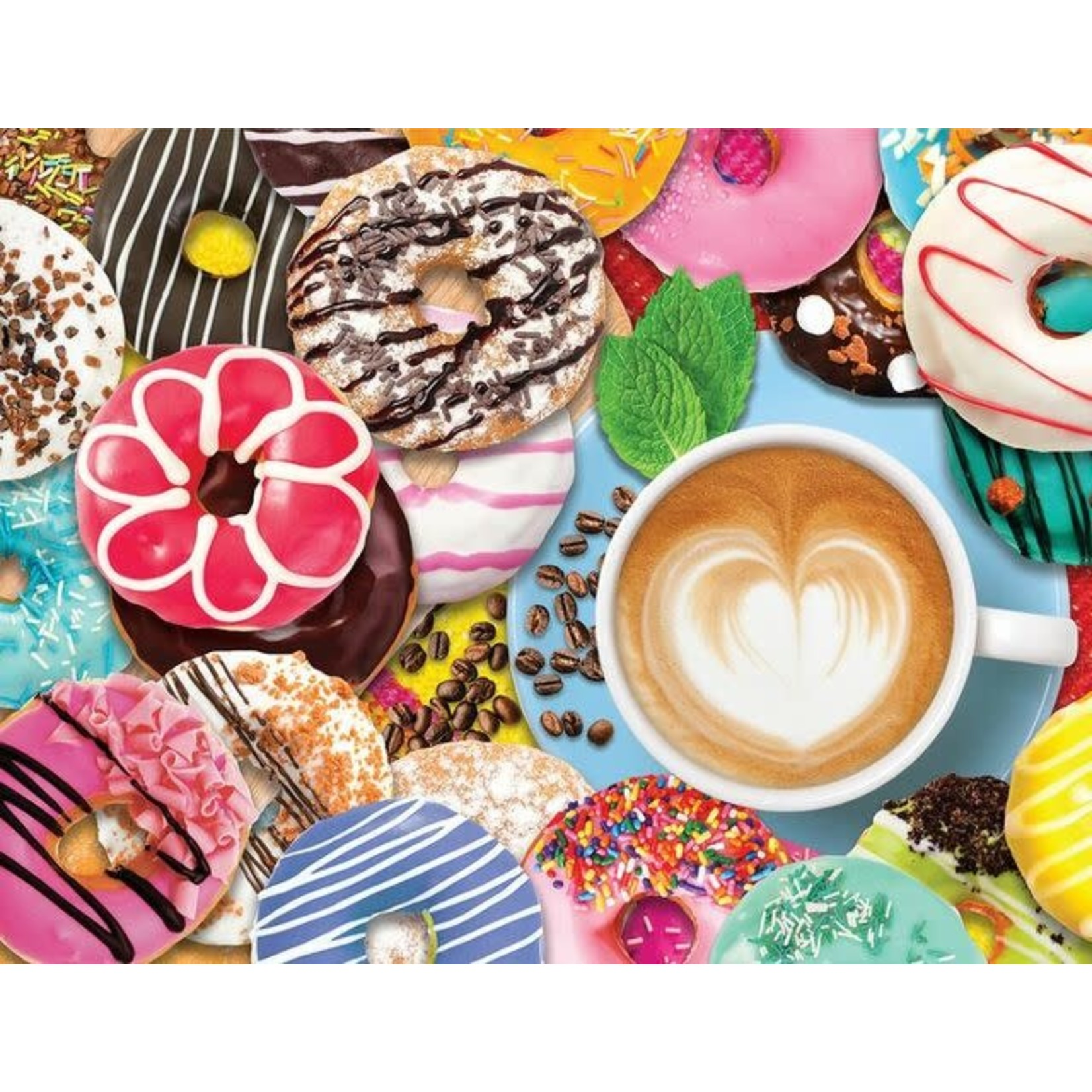 DONUTS N COFFEE PUZZLE