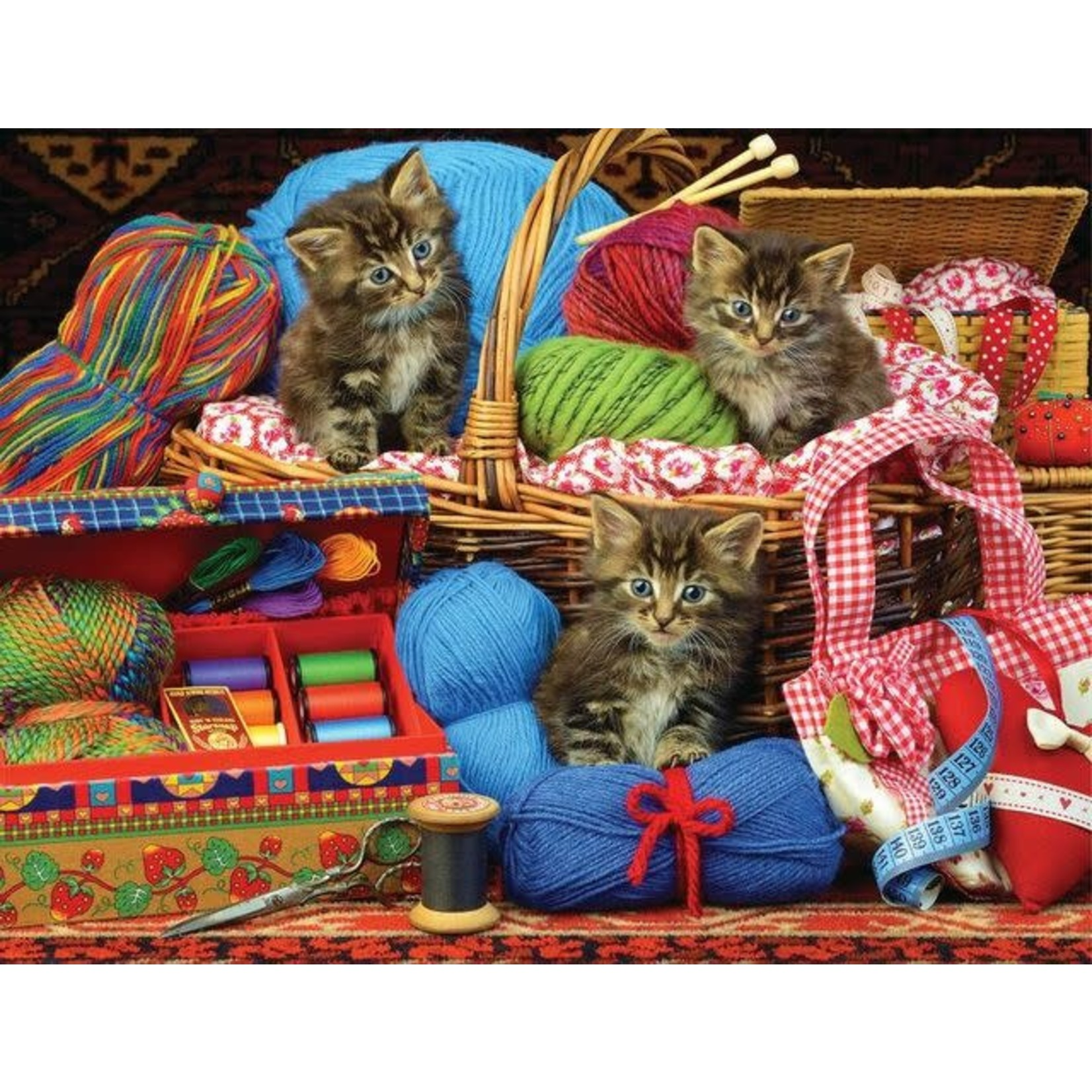 SEW CUTE CATS PUZZLE