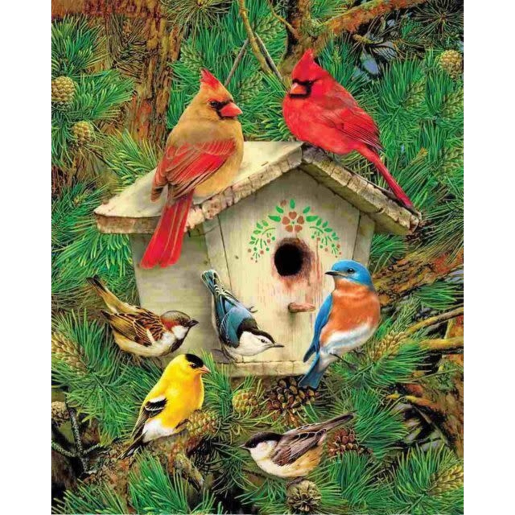 FEATHERED RETREAT PUZZLE