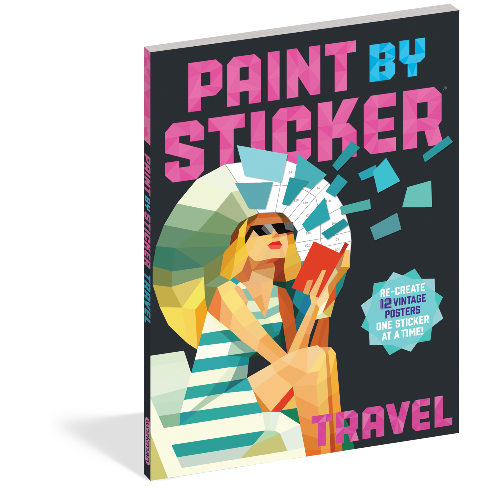 PAINT BY STICKER :TRAVEL
