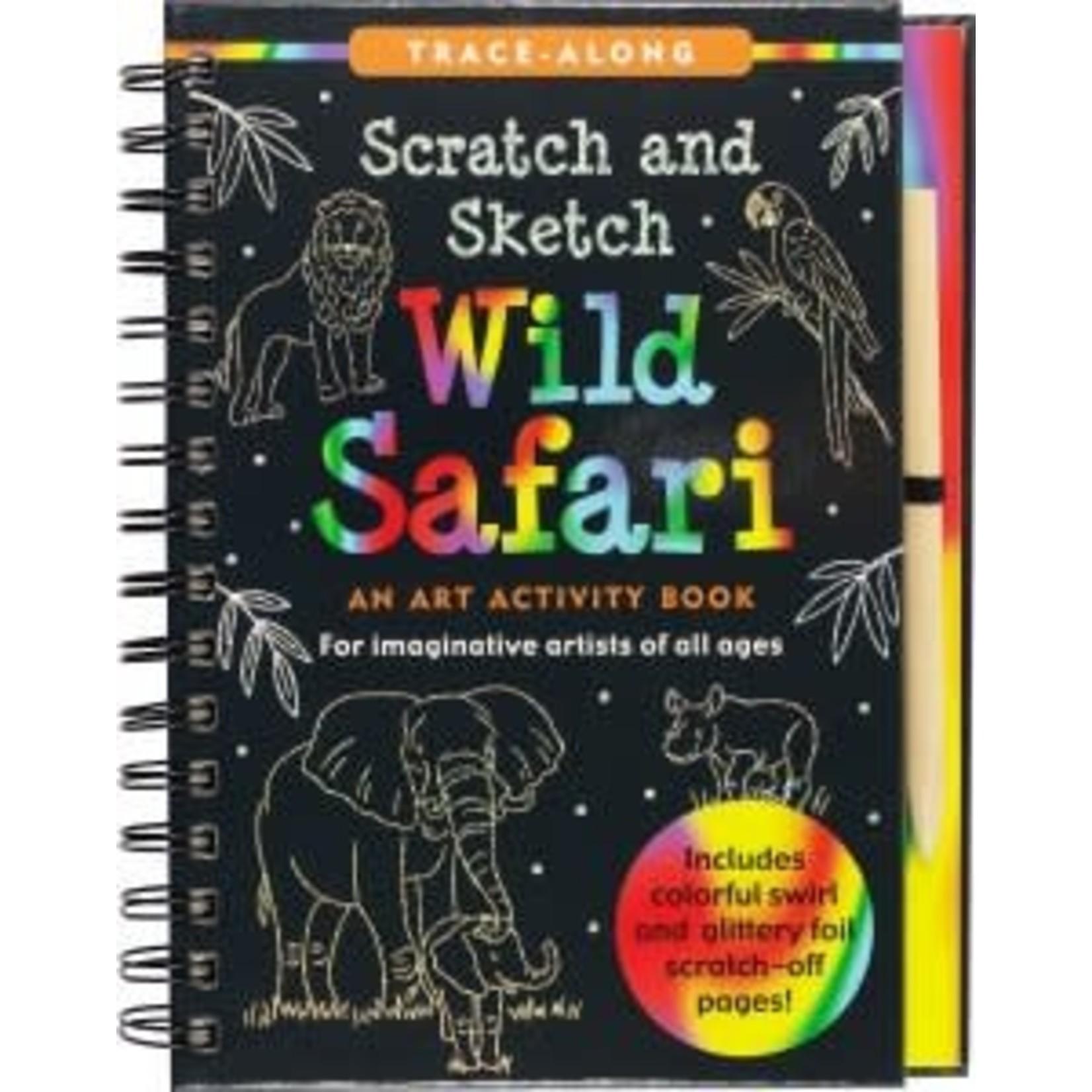 SCRATCH & SKETCH WILD SAFARI