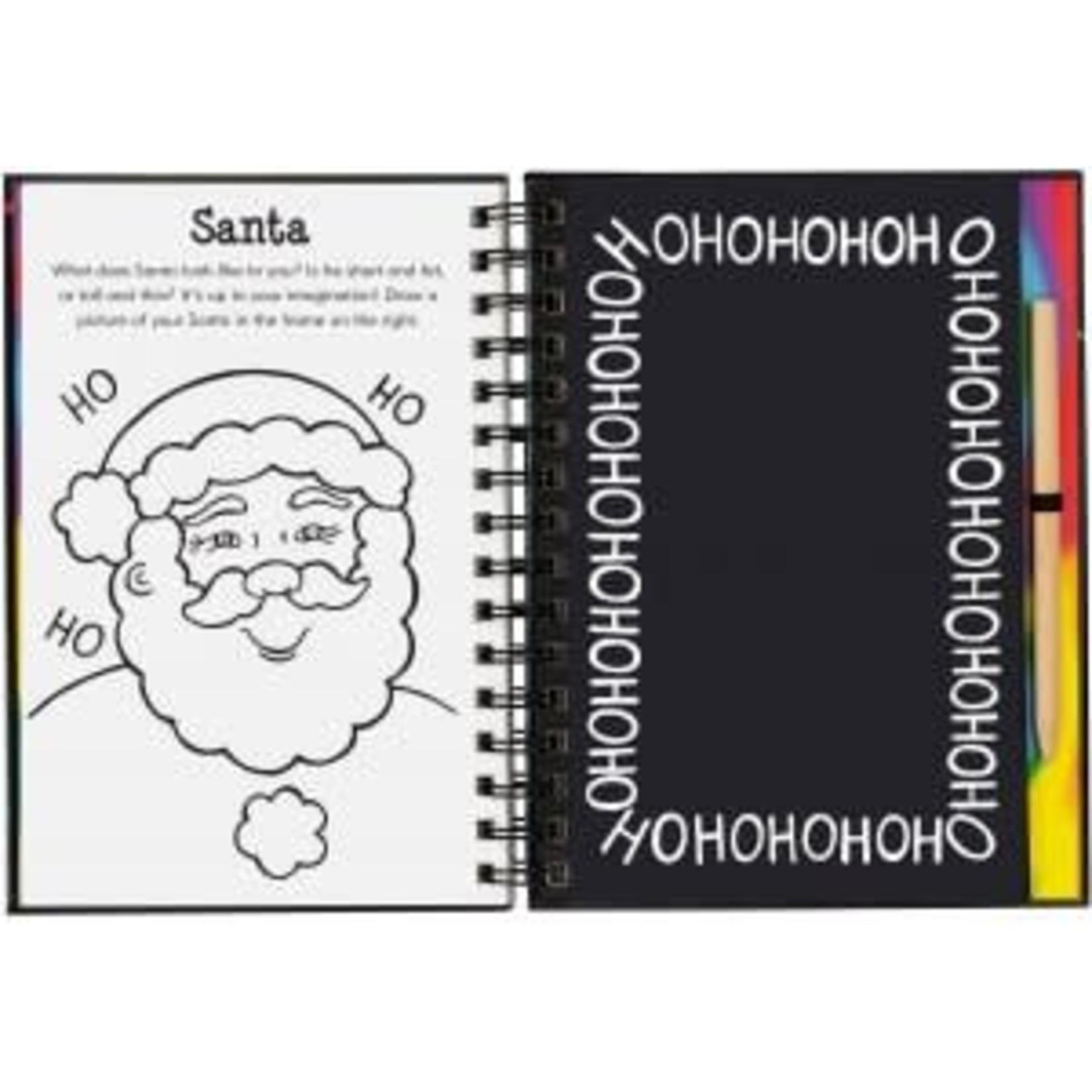 SCRATCH & SKETCH MERRY CHRISTMAS