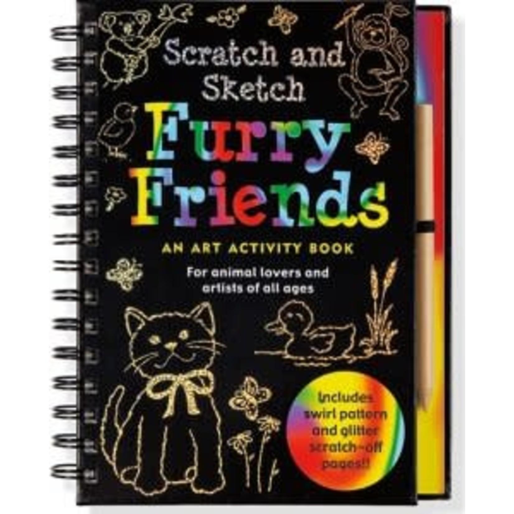 SCRATCH & SKETCH FURRY FRIENDS
