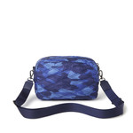 QUILTED CROSSBODY IN BLUE CAMO