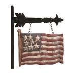 "12.5"" STAR USA WAVING FLAG ARROW"