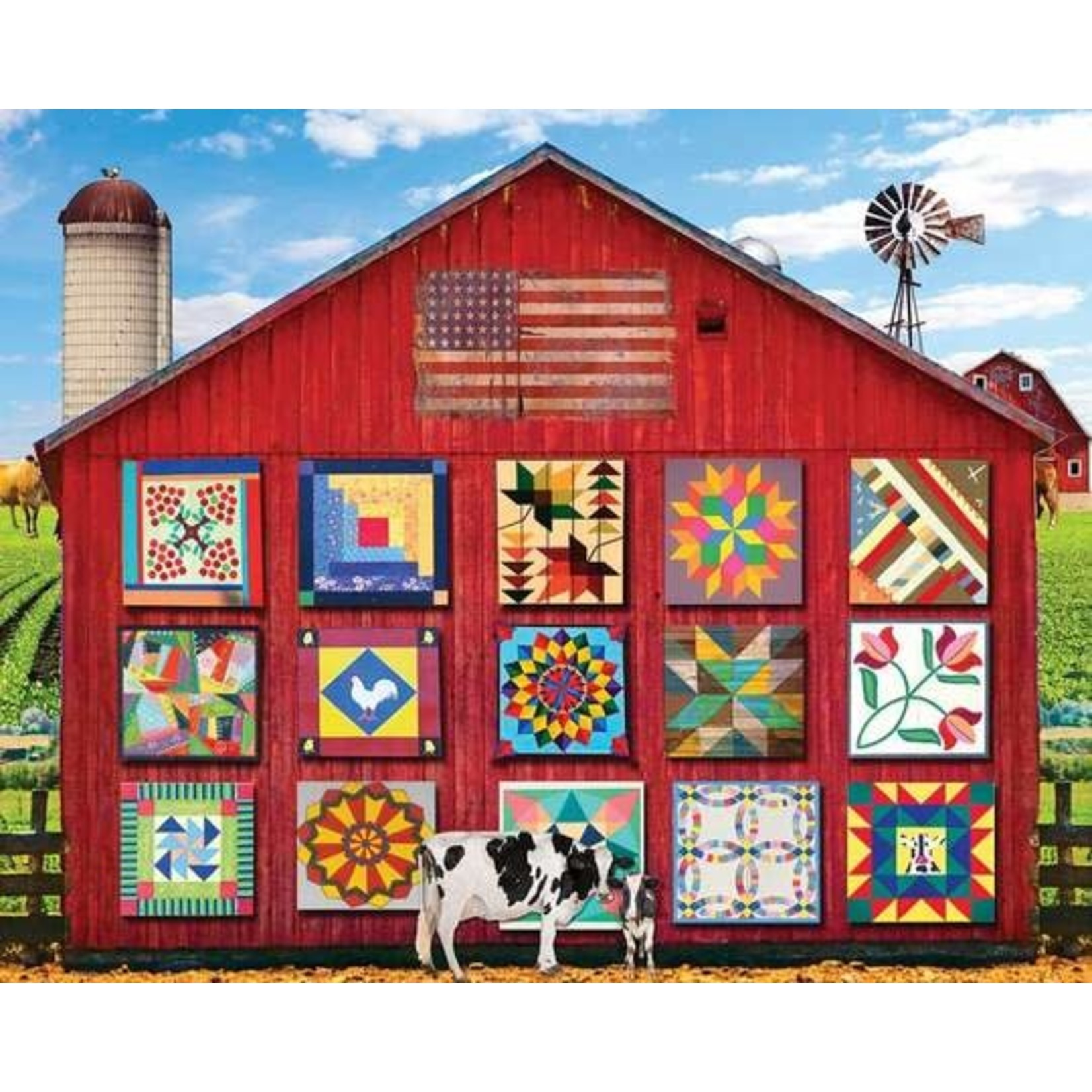 BARN QUILTS PUZZLE