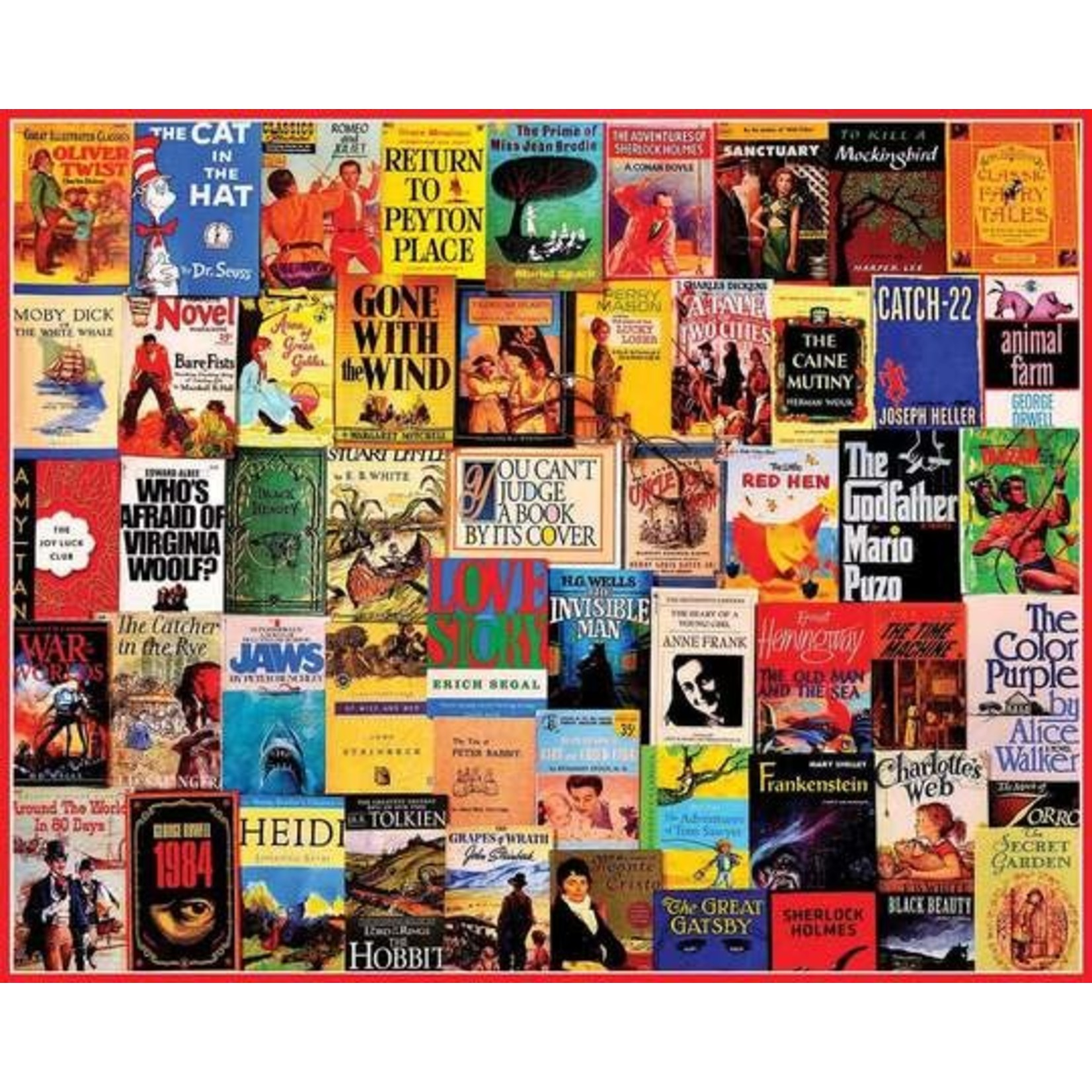 GREAT BOOKS PUZZLE