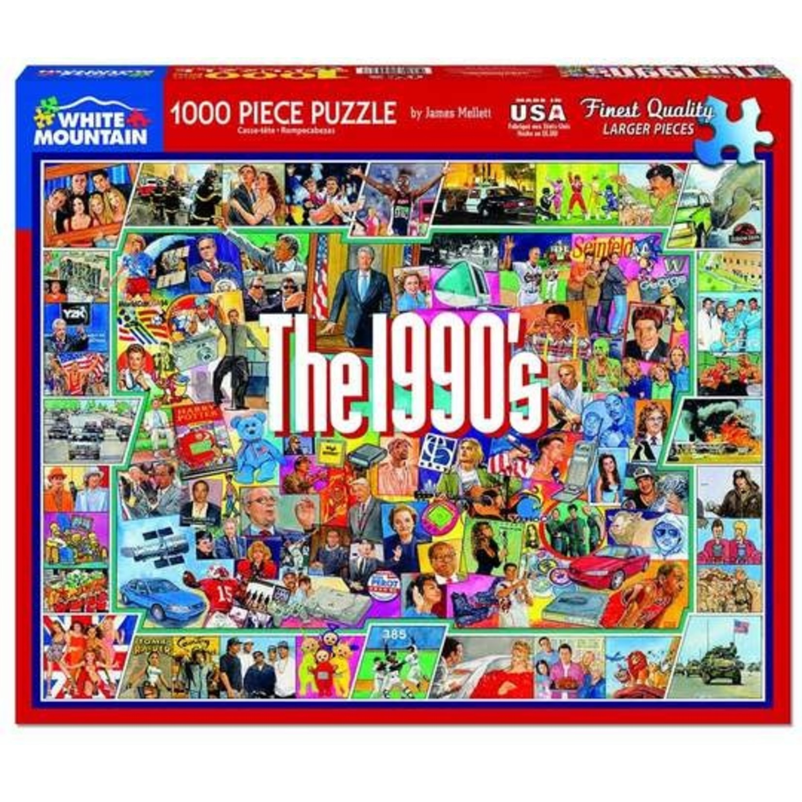 THE 1990'S PUZZLE
