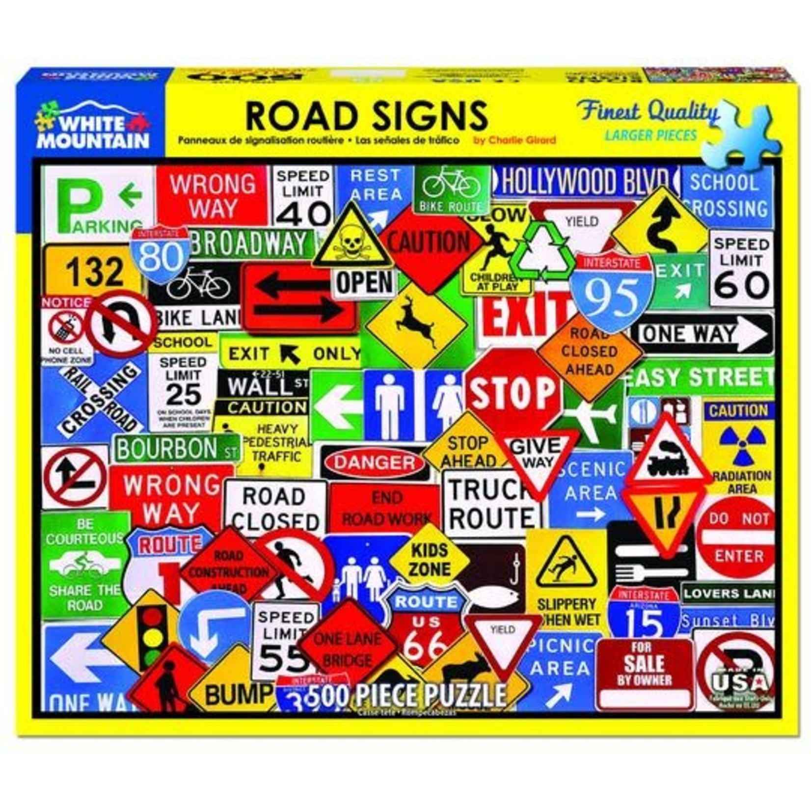 ROAD SIGNS 500 PUZZLE