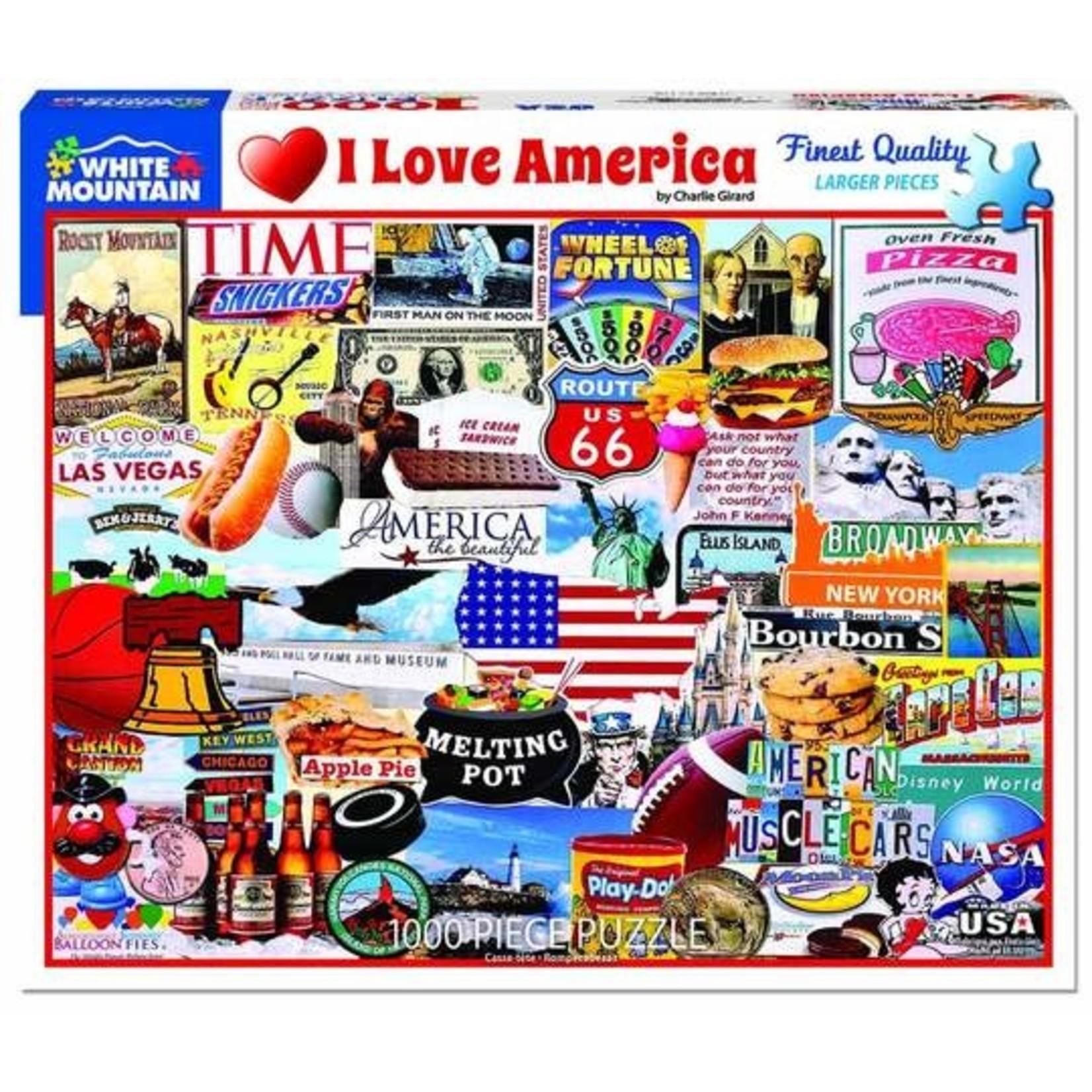 PUZZLE I LOVE AMERICA